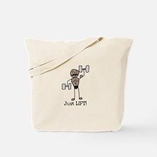 Just Lift Tote Bag