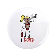 "I Pump 3.5"" Button"