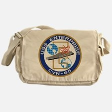 USS Enterprise CVN-65 Messenger Bag