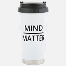 Mind Matter Stainless Steel Travel Mug