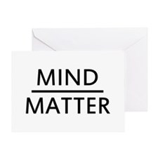 Mind Matter Greeting Card