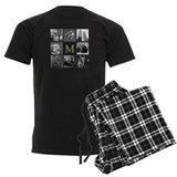 Monogram Men's Dark Pajamas