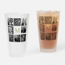 Your Photos Here - Photo Block Drinking Glass