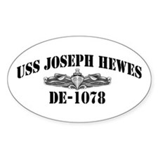 USS JOSEPH HEWES Decal