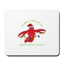 Merry Christmas for santa claws Mousepad
