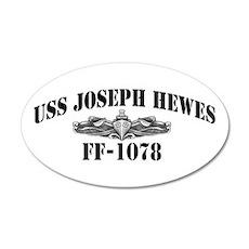 USS JOSEPH HEWES Wall Decal