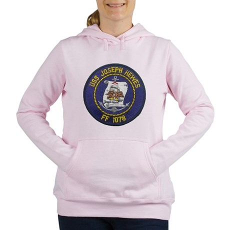 USS JOSEPH HEWES Women's Hooded Sweatshirt