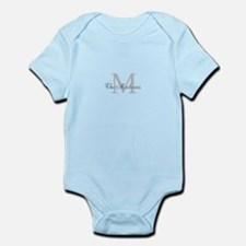Monogrammed Duvet Cover Body Suit