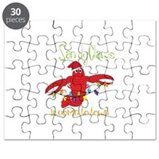 Sandy Claws is comin to town Puzzle