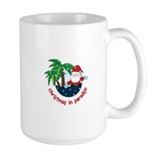 Chirstmas in paradise Mugs