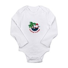 Chirstmas in paradise Body Suit