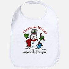 Christmas Wishes especially for you Bib