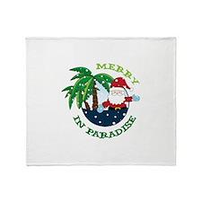 IN PARADISE Throw Blanket