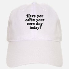 corn dog today Baseball Baseball Cap