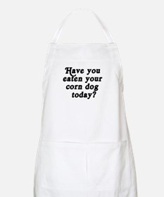 corn dog today BBQ Apron