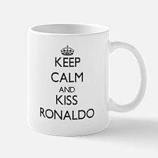 Keep Calm and Kiss Ronaldo Mugs