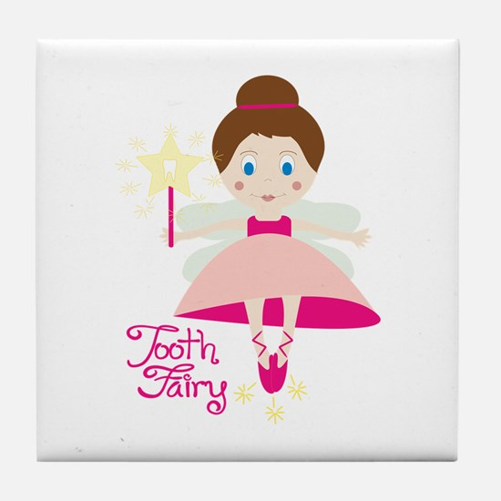 Tooth Fairy Tile Coaster