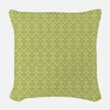 Puzzled! Finials Woven Throw Pillow