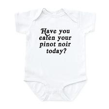 pinot noir today Infant Bodysuit