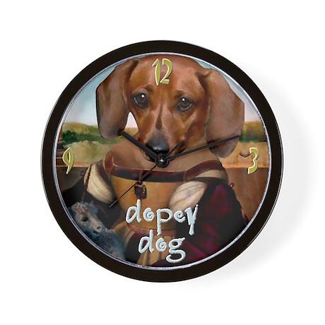 Dachshund RAPHAEL Wall Clock