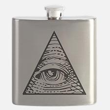 Eye of Providence Flask