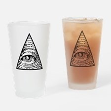 Eye of Providence Drinking Glass