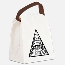 Eye of Providence Canvas Lunch Bag