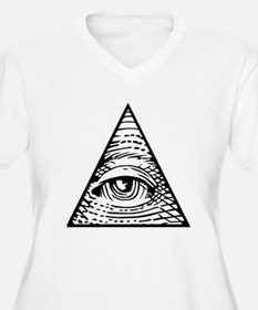Eye of Providence Plus Size T-Shirt