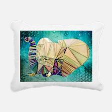 Abstract Elephant Rectangular Canvas Pillow