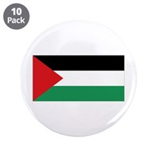 """Palestinian Flag 3.5"""" Button (10 Pack)"""