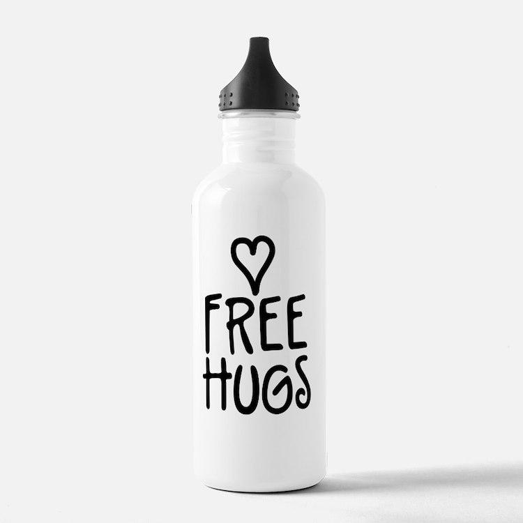 Cute Free hugs Water Bottle