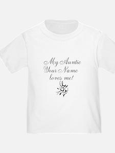 My Auntie Loves Me (Custom) T-Shirt