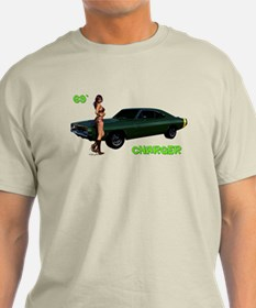 69 Charger Pinup T-Shirt