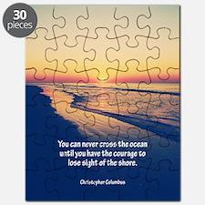 Christopher Columbus Quote Puzzle