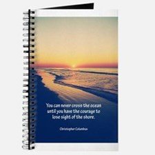 Christopher Columbus Quote Journal