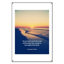 Christopher Columbus Quote Banner