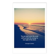 Christopher Columbus Quote Postcards (Package of 8