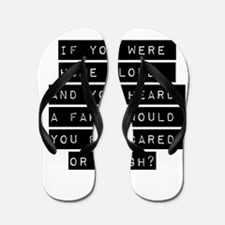If You Were Home Alone Flip Flops
