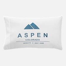 Aspen Ski Resort Colorado Pillow Case
