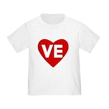 Ve (love) Heart T
