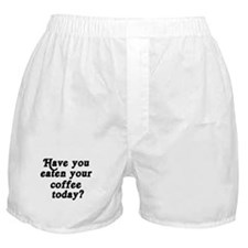 coffee today Boxer Shorts