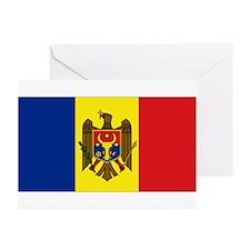 Moldovan flag Greeting Cards (Pk of 10)