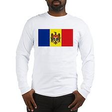 Moldovan flag Long Sleeve T-Shirt