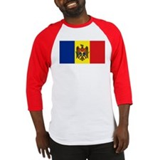 Moldovan flag Baseball Jersey