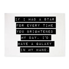 If I Had A Star 5'x7'Area Rug
