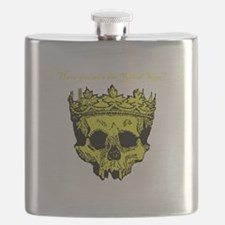 Yellow Sign Flask
