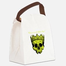 Yellow Sign Canvas Lunch Bag