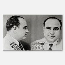 Al Capone Mug Shot, 1931 Decal
