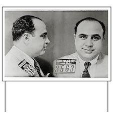 Al Capone Mug Shot, 1931 Yard Sign