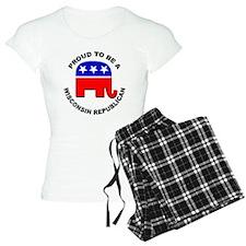 Proud Wisconsin Republican Pajamas